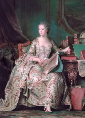 Mme de Pompadour, by Maurice-Quentin Delatour