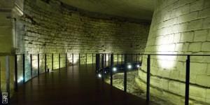 stone corridor inside the Bastille