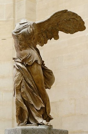 Nike of Samothrace, from 220 – 190 BC, Louvre