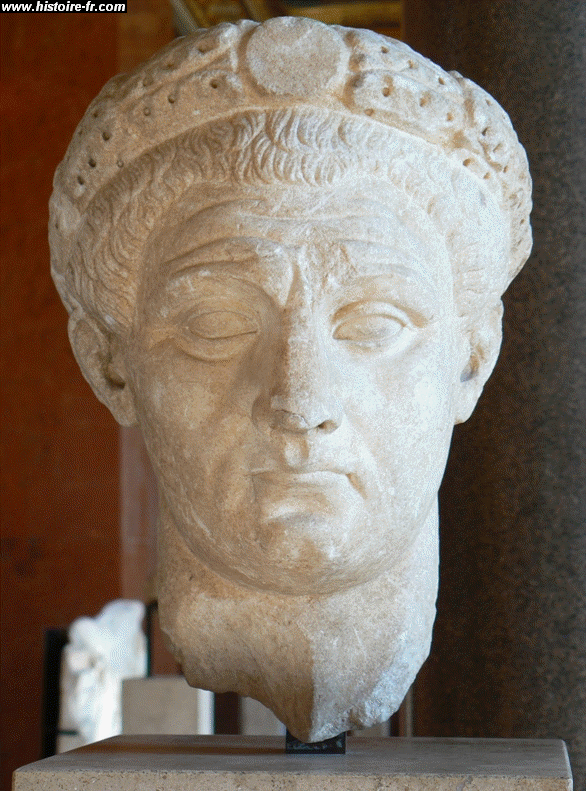 Bust of Claudius at the Louvre