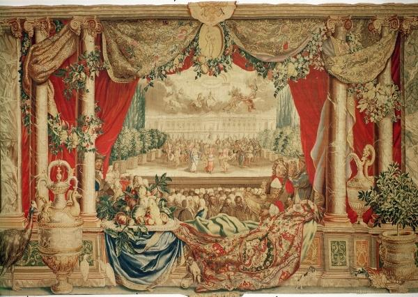"Boel's August in ""The Months"" tapestry (aka The Royal Houses), Louvre Paris"