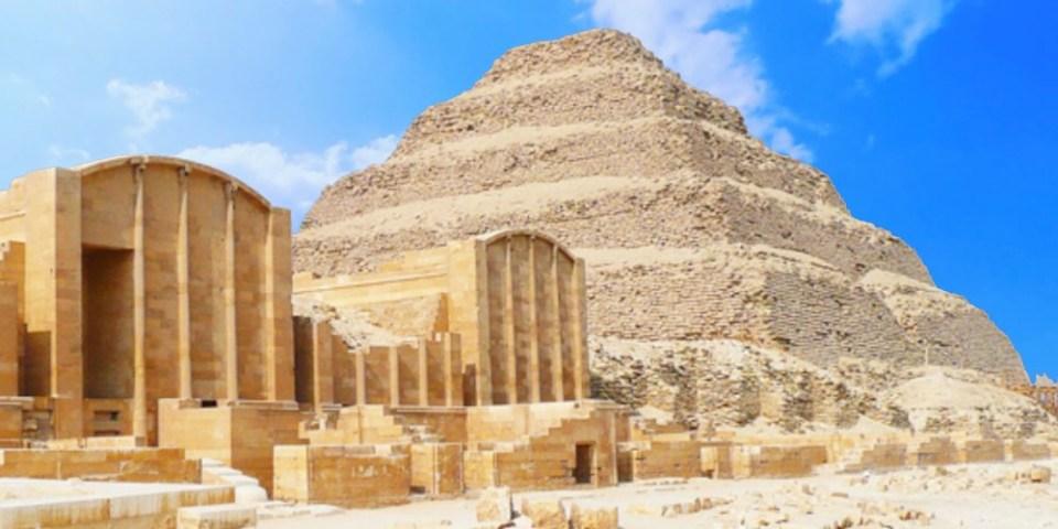Pyramid of Djoser, in the Saqqara necropolis near Memphis. 27th Century BC