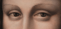 La Gioconda's Eyes in the Prado's version