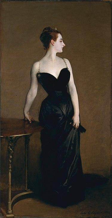 Madame X, 1884 The Met