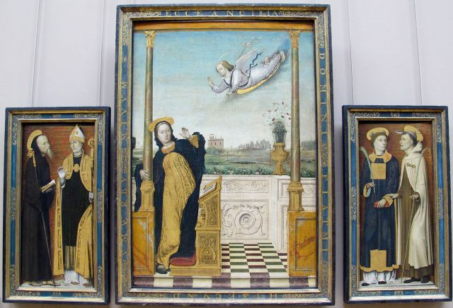 Annunciation - Carlo Braccesco