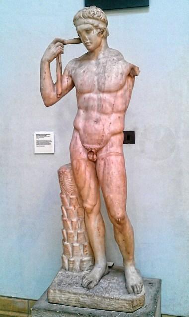 Daidoumenos, Roman copy of a Greek statue