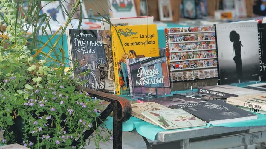 A book stall in Paris