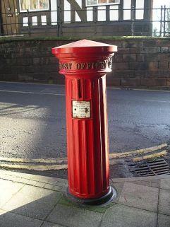 1856 Pillar Box, West Gate Warwick.