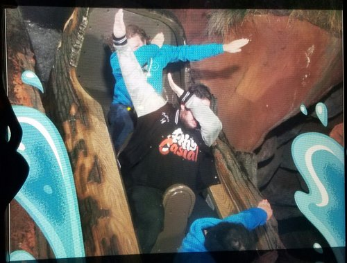 The Splash Mountain Dab