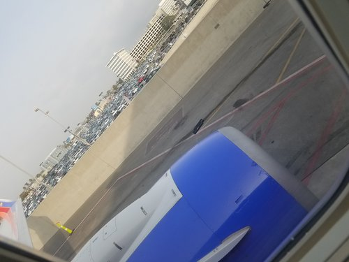 Leaving LAX