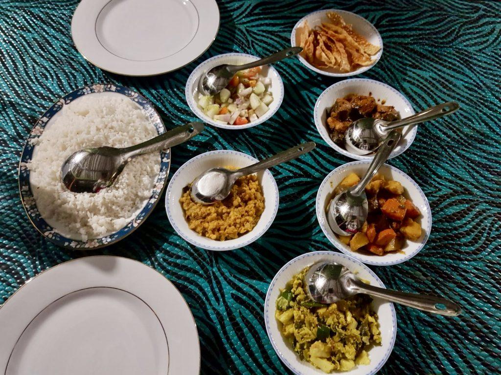 Sri Lankan Rice & Curry