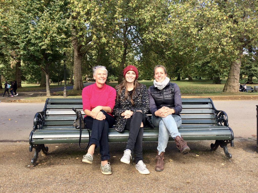 Wandelen door Hyde Park in Londen