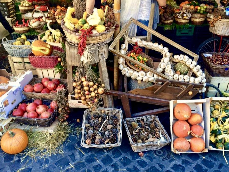 De markt in Rome