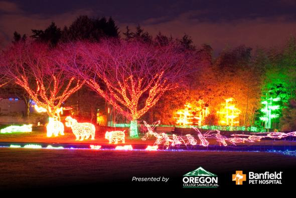 La Zoo Lights Nightly Admission December 10