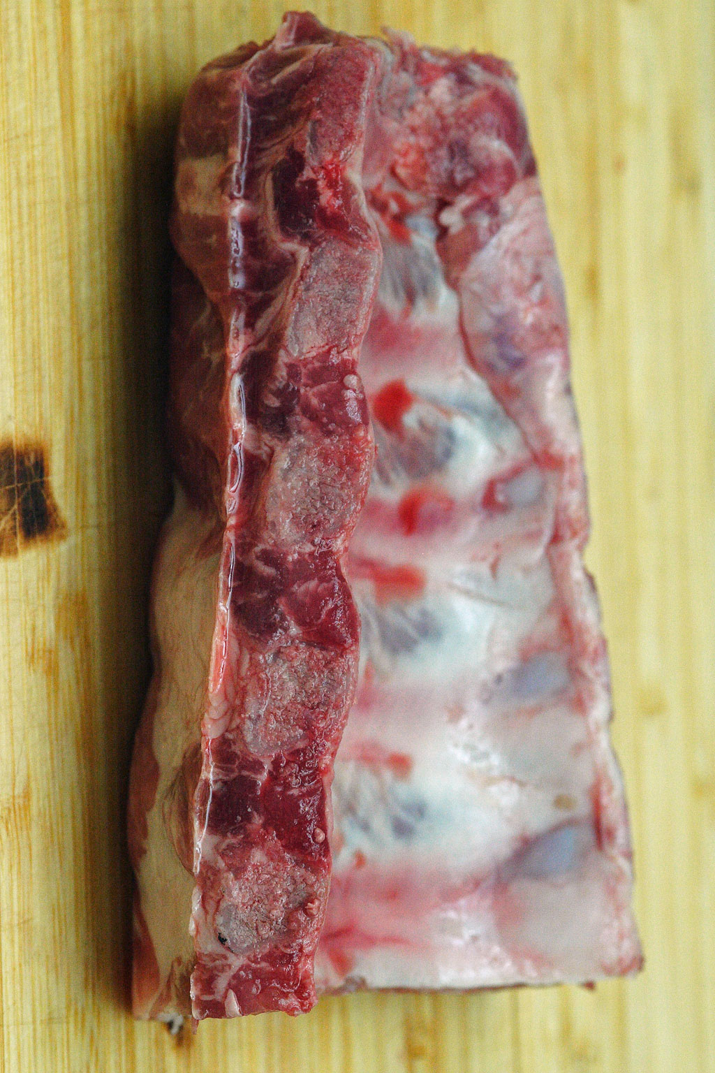 oven roasted pork ribs : sugar : salt : pepper : if only I could