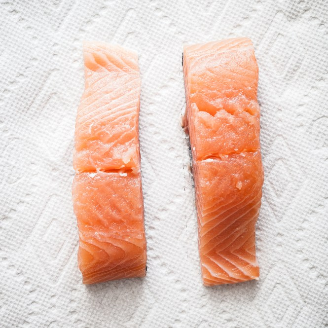 How to pan sear a salmon fillet