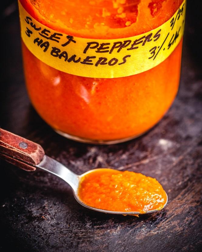 amazing fermented habanero hot sauce