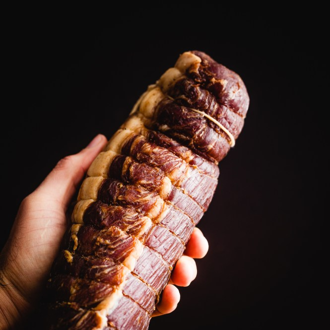 the easiest way to dry-cure a pork loin at home @ thatothercookingblog.com