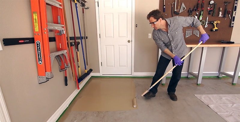 Garage Floor Paint Colors You Should Know About With Photos