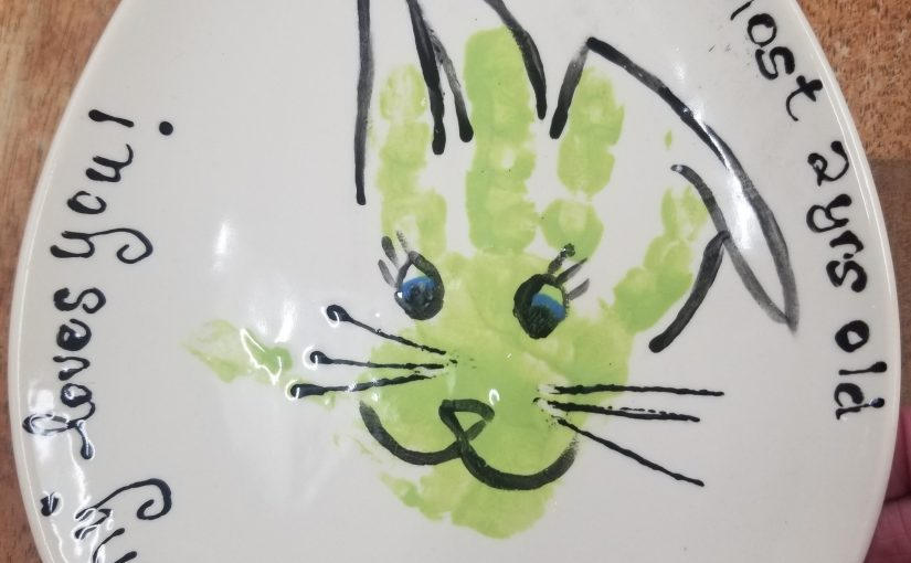 Paint some Easter Keepsakes!