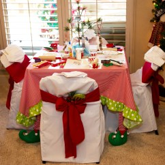 Christmas Elf Chair Covers Table And Rental Columbus Ohio The Magic Of Cookie Decorating Party That
