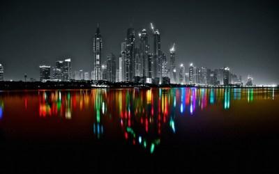 Dubai Marine Skyline – Platux Modern Art Photography ...