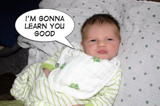 6 Things You Learn When You Have a Newborn - That Poore Baby