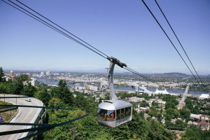 Aerial Tram in Portland Oregon