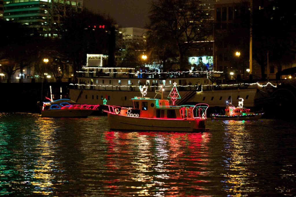 christmas ships light