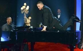 Channing Tatum humps a piano