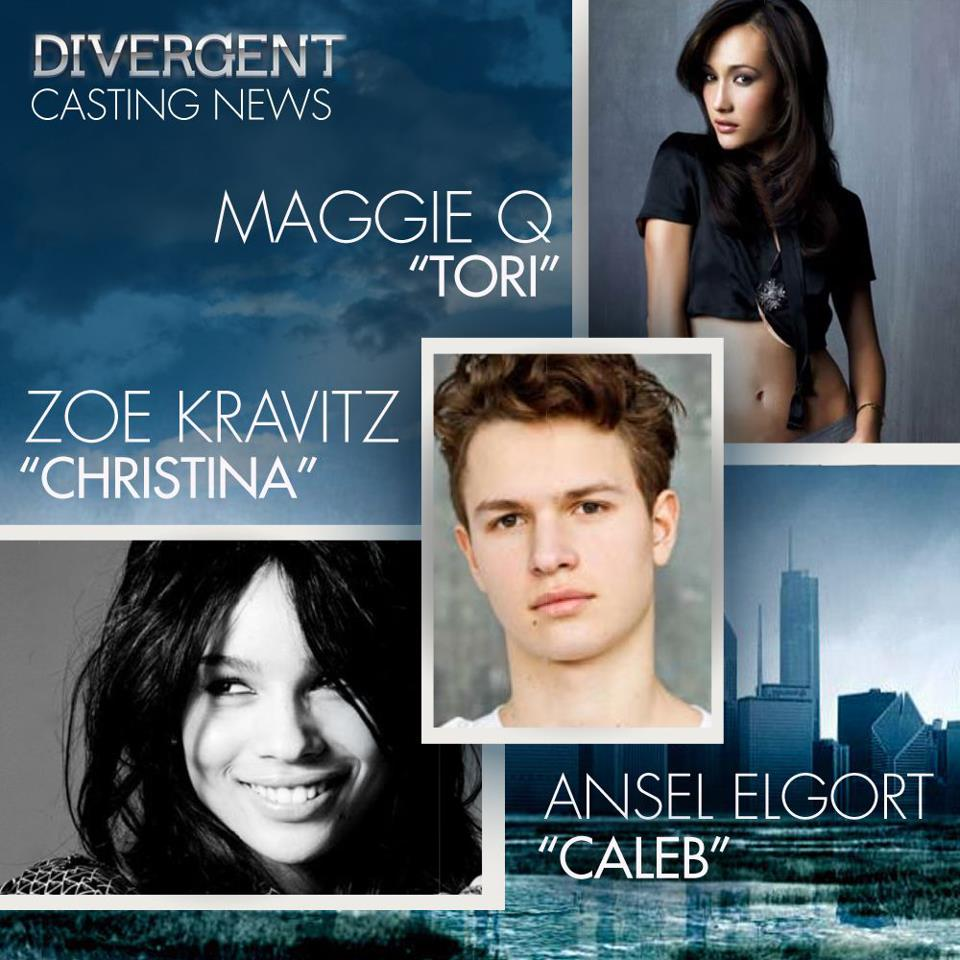 Zoe Kravitz Jennifer Lawrence Friends: Divergent Casting News! Zoe Kravitz, Maggie Q And More
