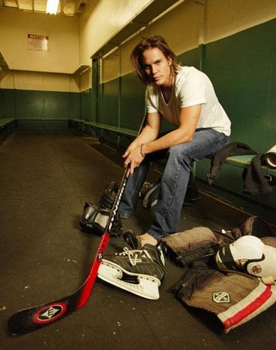 hot hockey player