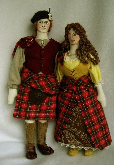 Jamie Fraser Doll