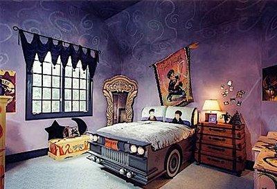 Harry Potter bedroom, nerds dating