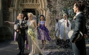 Sherlock wedding, the sign of three, pbs, bbc