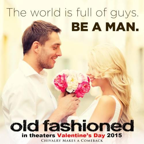 be a man