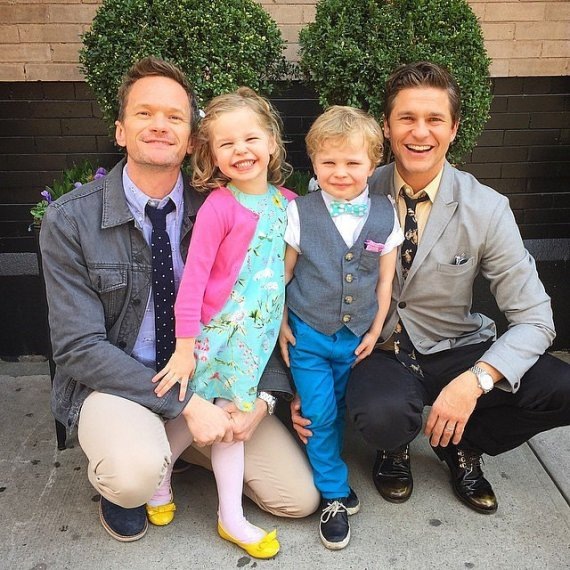 Neil-Patrick-Harris-Cute-Family-Instagram-Pictures