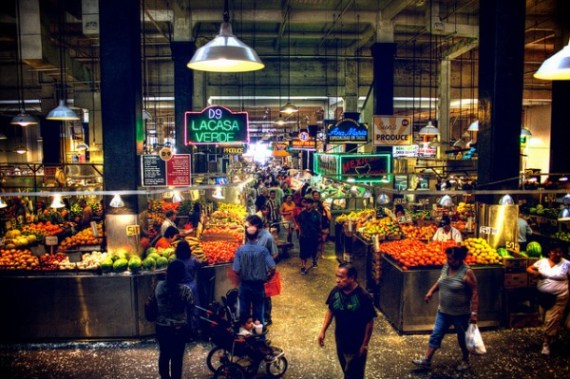 los angeles, travel, grand central market