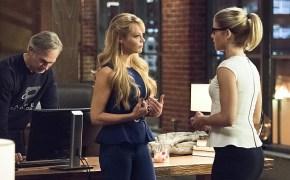 Arrow's Felicity, Donna and Noah, the Smoak Family