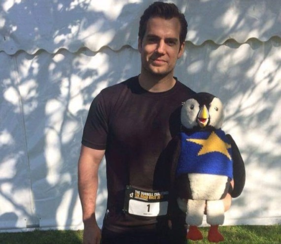 Henry Cavill and a Puffin 2