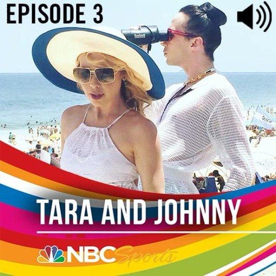 Johnny Weir and Tara Lipinski