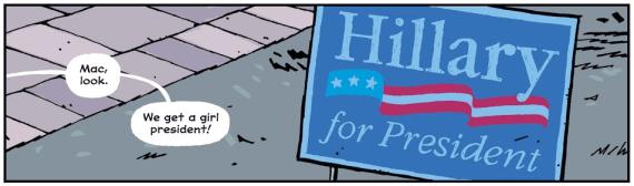 Hillary for President - Paper Girls