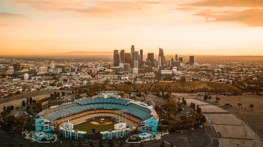 dodger stadium, visit LA, los angeles, travel