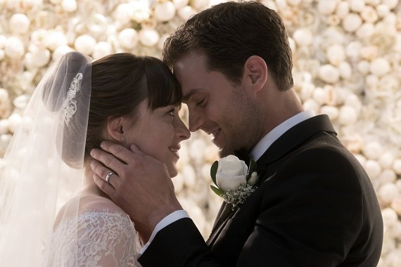 Fifty Shades Freed - wedding