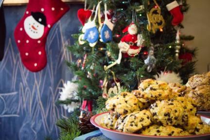 Scones with Santa!