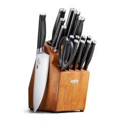 Good Kitchen Knife Set Appliance Shelf Review Oxo Grips 17 Piece Block Thatsaknife