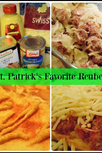 St. Patrick's Favorite Reuben