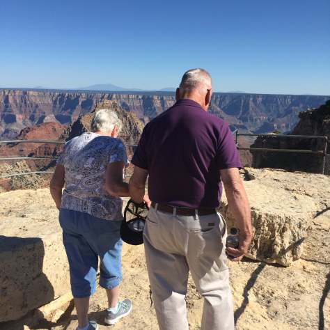 John, Marilyn Grand Canyon, 2016