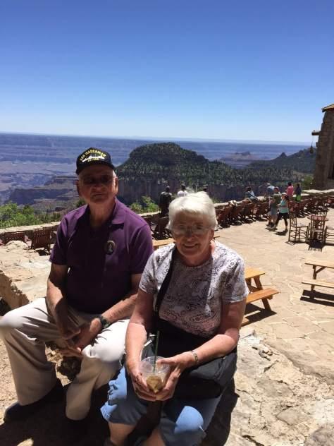 John, Marilyn Grand Canyon, 2016