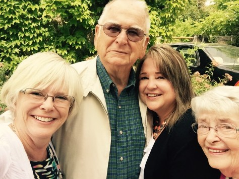 KIm, Dad, Sue, Mom, France 2015